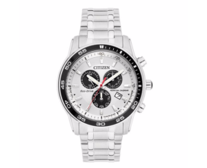 Citizen Eco-Drive Men's Stainless Steel Bracelet Watch-1