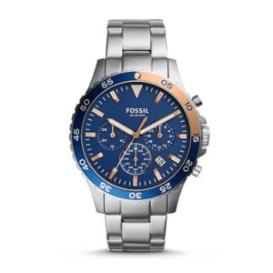 Fossil Crewmaster Sport Chronograph Stainless Steel Watch
