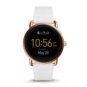 Fossil Q Wander Touchscreen White Silicones Smartwatch