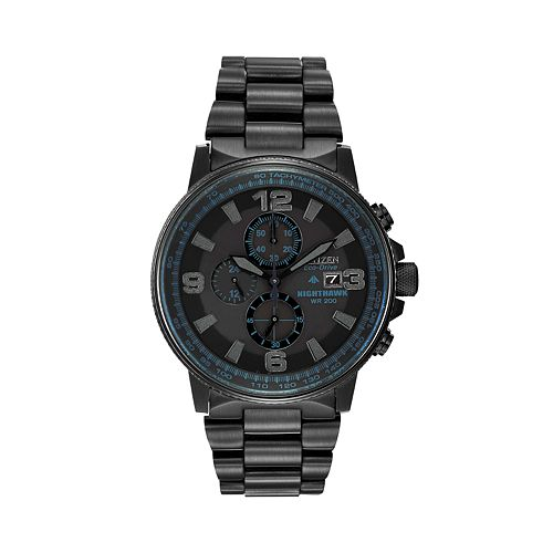 Citizen Men's Eco-Drive Nighthawk Stainless Steel CA0295-58E