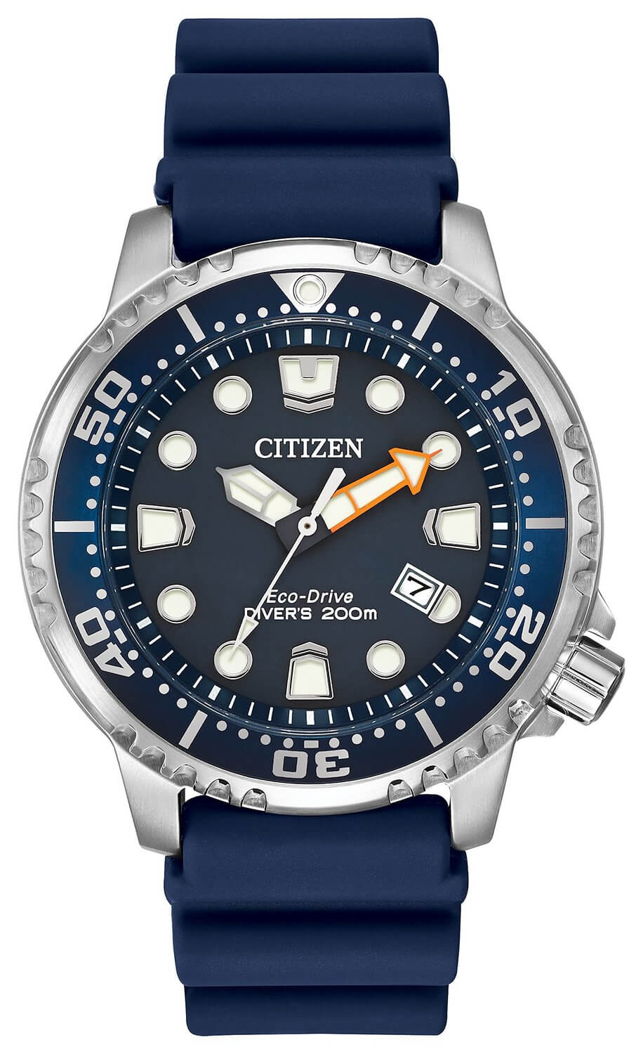 Citizen Men's Eco-Drive Promaster Diver with Blue PU Band BN0151-09L