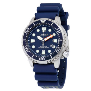 Men's Eco-Drive Promaster Diver with Blue PU Band BN0151-09L