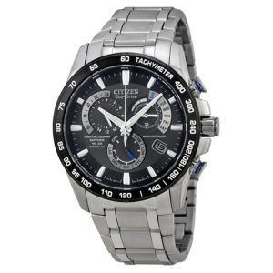 Men's Eco-Drive Titanium Perpetual Chrono A-T AT4010-50E