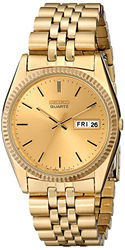Men's Gold-Tone Stainless Steel Dress SGF206
