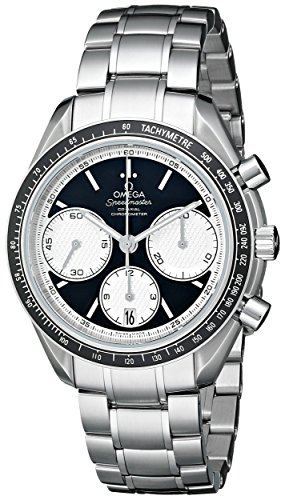 Men's Speedmaster Racing Analog Display Swiss Automatic Silver 326.30.40.50.01.002