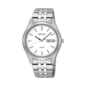 Men's Stainless Steel Solar-Powered SNE031