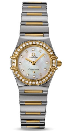 Omega Women's Constellation My Choice Quartz Mini Diamond 1365.75.00