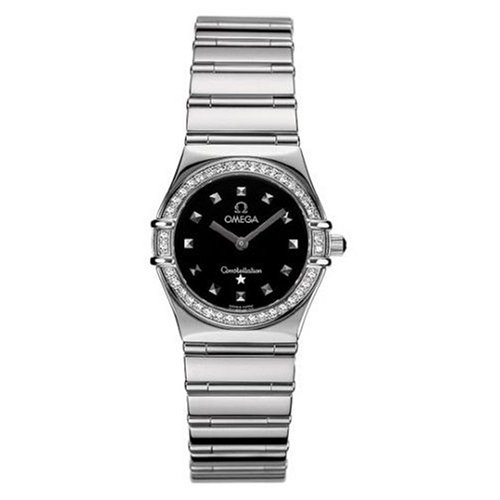 Omega Women's Constellation My Choice Quartz Diamond Bezel 1475.51.00