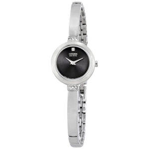 Women's Eco-Drive Stainless Steel Swarovski Crystal-Accented EW9920-50E