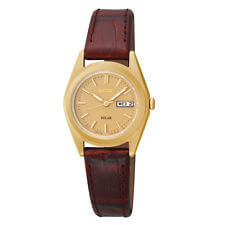 Seiko Analog Display Japanese Quartz Brown SUT120
