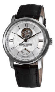 Baume & Mercier Men's Classima Executives Open Silver Guilloche Dial 8869