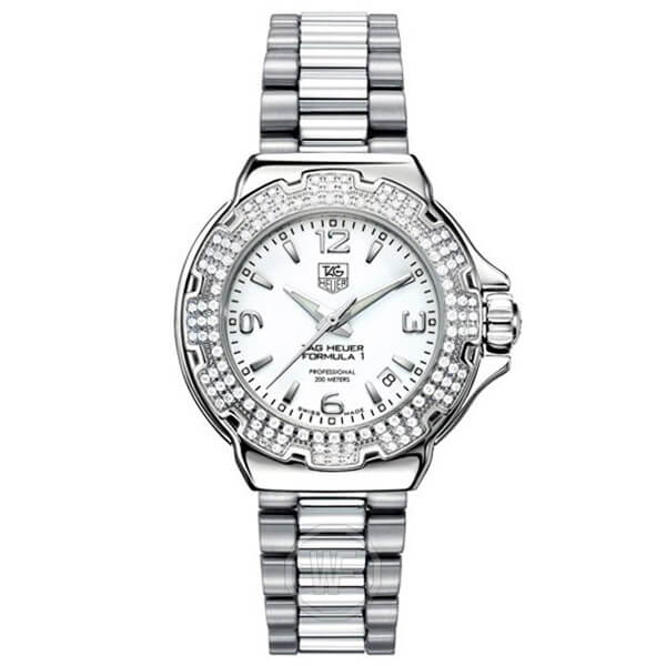 Tag Heuer Formula One Diamond Accented WAC1215.BA0852