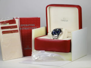 Omega watch and accessories