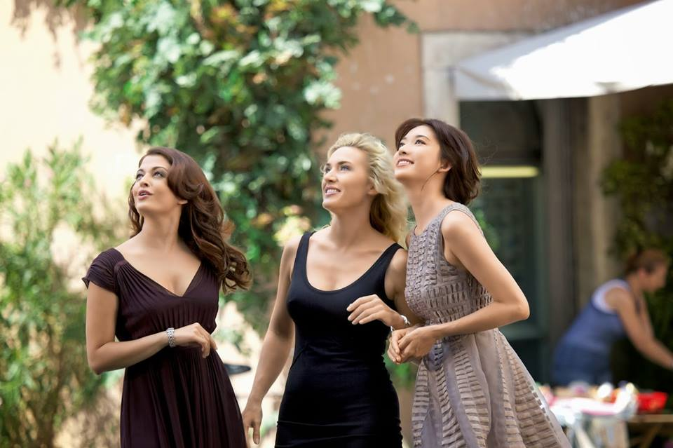 Kate Winslet, Aishwarya Rai Bachchan and Lin Chi-ling for Longines DolceVita collection