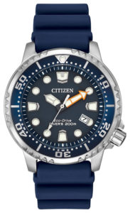 Citizen Eco-Drive Promaster Diver with Blue PU Band BN0151-09L