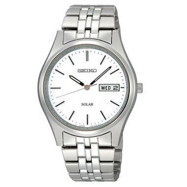 Seiko Stainless Steel Solar-Powered SNE031