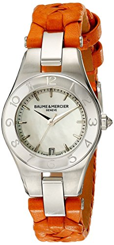 Baume & Mercier Linea Analog Display Quartz Orange BMMOA10115