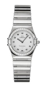 Omega Constellation My Choice Diamond Accented