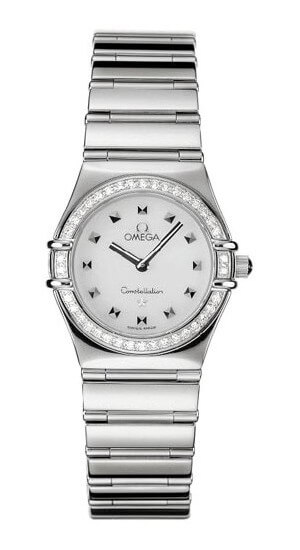 Omega Womens' Constellation My Choice Diamond Accented