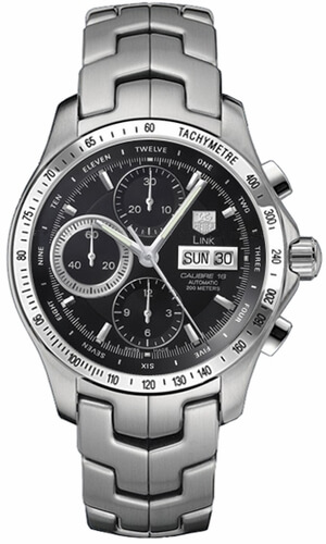 Tag Heuer Link Automatic Chronograph Day-Date CJF211A.BA0594