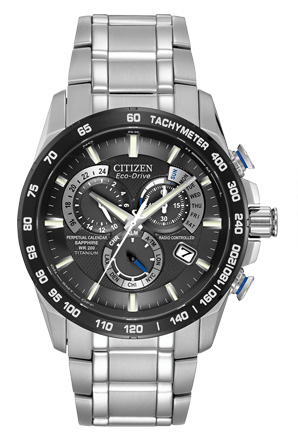 Citizen Eco-Drive Titanium Perpetual Chrono A-T AT4010-50E