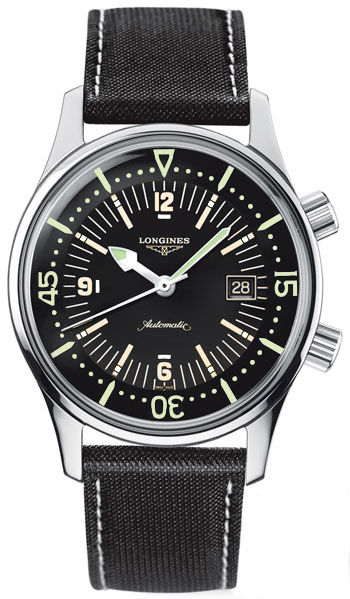 Longines Sports Legends Black Dial L3.674.4.50.0