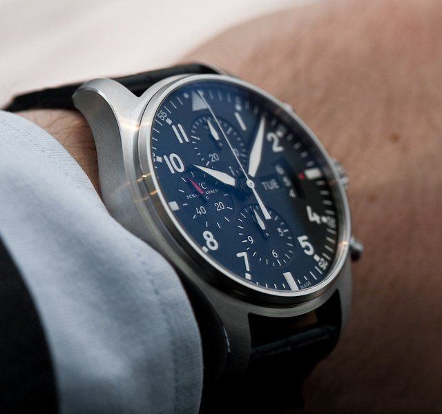 IWC Pilot's Chronograph Automatic Watch